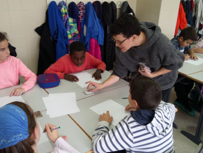 Más de 600 escolares de Logroño en los Talleres de Ilustración