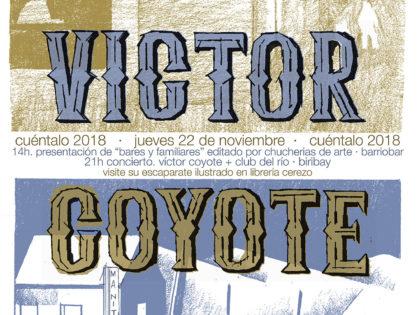 La música de Víctor Coyote y el imaginario rural de Andrés Pascual, Elvira Valgañón y Ruth Somalo, el jueves en el Festival de Narrativas CUÉNTALO