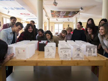 """Trabajos de los alumnos del Taller de Ilustración  """"La tentación del agujero"""", con Elena Odriozola y Gustavo Puerta Leisse"""